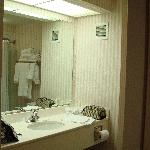 Bathroom with soft towels