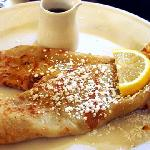 Pancake Option for Breakfast.