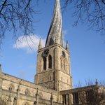 Crooked spire Chesterfield parish Church
