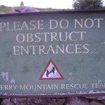 Mount Rescue Sign