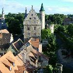 Blick aus dem Turm
