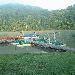 Paddle boats we used