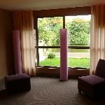 """interieur de l'hotel """"les rives"""""""