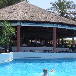 Bar in the middle of the pool