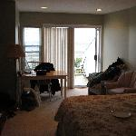 The Bedroom/Living Room area