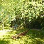 Petit coin repos dans le jardin