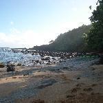 Hideaways beach facing east