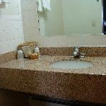 Sepearate vanity area