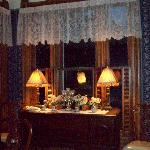 Dining room hutch.