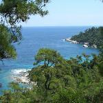 Thassos coastline