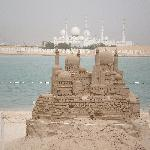 sandcastle of the mosque