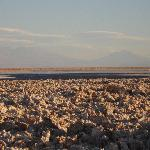 Salt Flat in the Desert