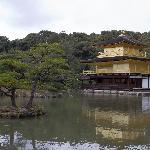 Golden Pavilion across lake