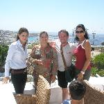 Guest Relations managers Maria on left