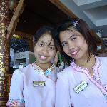 Bang and Nam khaeng,cafe staff