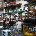 food street with glorious good food!