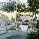 Swann Hotel Front Porch