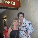 with Elvis( my eyes always close with flash)
