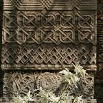 Reliefs an der Trei Ierarhi-Kirche, einer der bedeutendsten Sakralbauten von Iasi, 200 m vom Hot