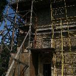 Zurzeit werden viele Baudenkmäler restauriert
