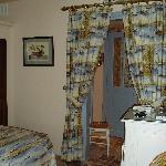 Bedroom and dressing room at Toiras