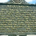Front side of Whitehaven Sign
