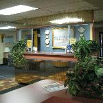 Lobby of Motel 8 Port Clinton