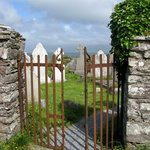 entrance to Ballinskelligs Old Burial Ground