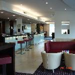 Reception/bar/lounge area
