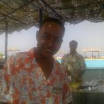 Reda: il barista migliore di Marsa Alam.