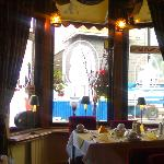 Dining room at the Westholme Hotel Blackpool
