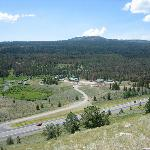 View of ranch