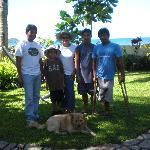 it's me, eljh & staff (Roland, Ray, Freddy & Buchoy (dog)