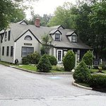 Cedar Street Restaurant is set into a residential neighborhood in a woodland setting