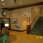 Lobby and restaurant entrance