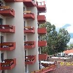 Vista de las habitaciones. Balcones