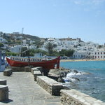Mykinos Harbour
