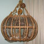 Looks like a bird cage