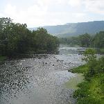 Crossing Shenandoah River on bike ride