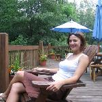 Early afternoon on the deck