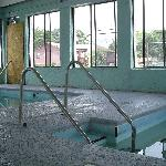 the indoor pool not much better very musky