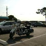 My Road King loves The Cayucos Motel