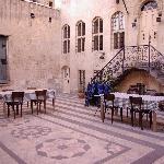 Anadolu Evleri courtyard
