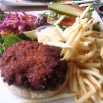 Veggie Burger at The Hobbit
