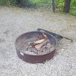 Campfire, Zilpo Campground, 2008