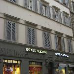 Exterior of Hotel Maxim