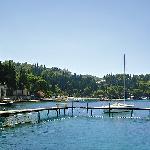 waterfront of hotel croatia