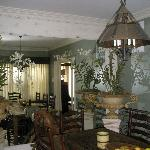 English Suite - Dining room area