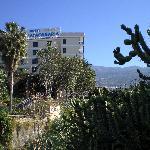Close to La Paz above the town of Puerto de la Cruz