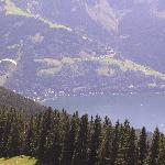A view from Schmittenhohe down to Zell